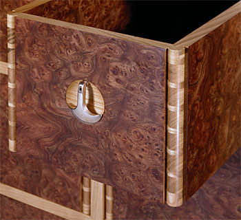 John Makepeace    Furniture Designer and Maker    'Eighteen' Chest (detail)