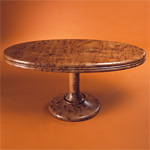 'Ellipse' table - click here to look at an enlarged image of this table and read about the design