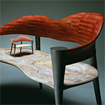 'Embrace' chair - click here to look at an enlarged image of this chair and read about the design