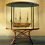 'HMS Alfred' cabinet - click here to look at an enlarged image of this cabinet and read about the design