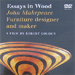 'Essays in Wood' DVD - click here to read about this DVD