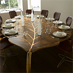 'Mulberry' table - click here to look at an enlarged image of this table and read about the design