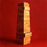 'Obelisk' chest - click here to look at an enlarged image of this chest and read about the design