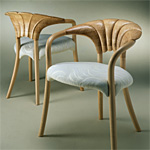 'Petal' chairs - click here to look at an enlarged image of these chairs and read about the design