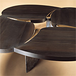 'Quadrofoil' table - click here to look at an enlarged image of this table and read about the design