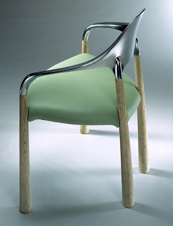 John Makepeace    Furniture Designer and Maker    'Serendipity' Chair