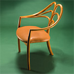 'Spring' chair - click here to look at an enlarged image of this chair and read about the design
