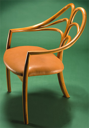 John Makepeace    Furniture Designer and Maker    'Spring' Chair