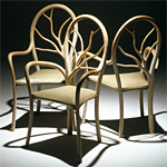 'Sylvan' chairs - click here to look at an enlarged image of these chairs and read about the design