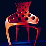 'Throne' chair - click here to look at an enlarged image of this chair and read about the design