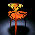 'Trine' chair - click here to look at an enlarged image of this chair and read about the design