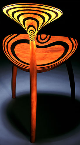 John Makepeace    Furniture Designer and Maker    'Trine' Chair