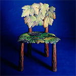 'Vine' chair - click here to look at an enlarged image of this chair and read about the design