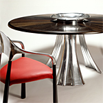 'Wave' table - click here to look at an enlarged image of this table and read about the design