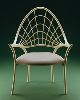 John Makepeace - Furniture Designer Maker - 'Millennium' chair
